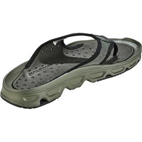 Salomon RX Break 4.0 Recovery Slides Heren, castor gray/black/beluga